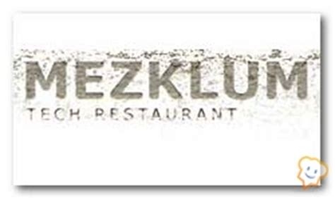 mezklum tech restaurante mezklum madrid