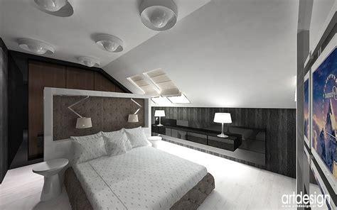 nowoczesny layout nowoczesny design wnętrz projekt sypialni łazienki i