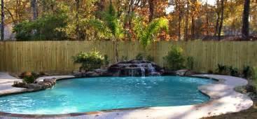 rock waterfalls for pools rock waterfall for pool backyard design ideas