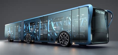 Willie Bus Concept Incorporates Huge Lcds Being Used On