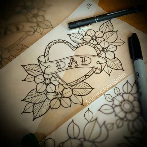 old school flower tattoo designs school flower line drawing flash