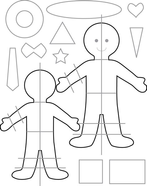 felt templates for we wilsons felt play dolls and tutorial up
