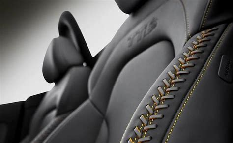 auto upholstery patterns what do you think of laced french seams