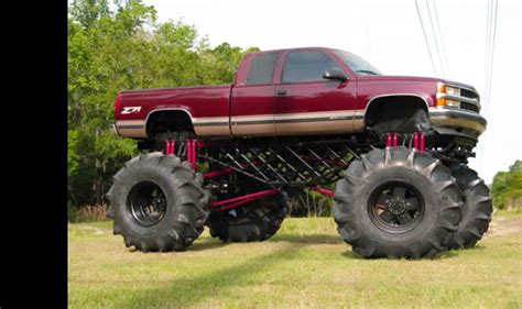ta monster truck this massive custom mud truck is unbelievable