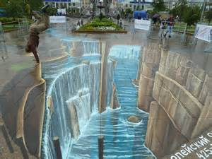 3d paintings тюмени 3d street art siberia leon keer doing the