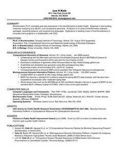 Phd Resume Template by Phd Academic Cv Resume Doctoral Student Cv
