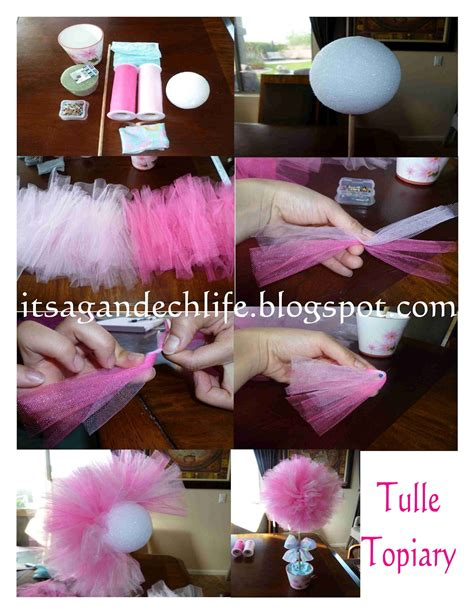 tulle topiary it s a gandech tulle topiary tutorial