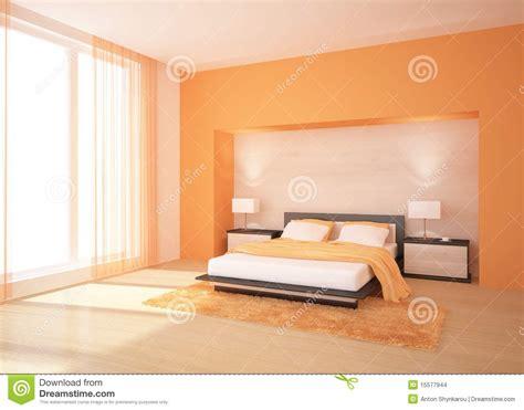 da letto arancione da letto arancione immagini stock immagine 15577944