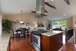split level open floor plan kitchen open split level remodel house interior remodel