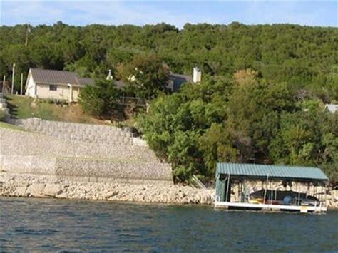 possum kingdom lake house rental waterfront executive