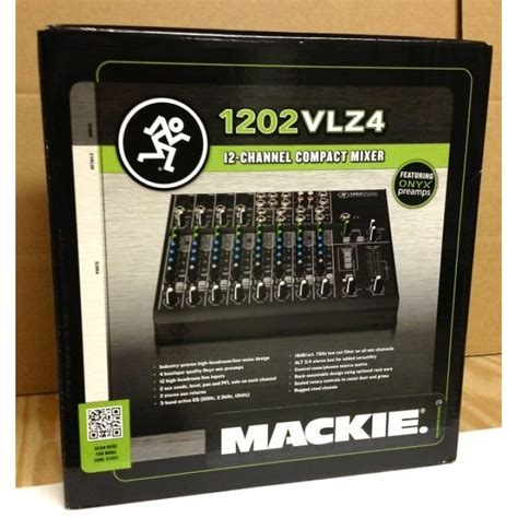 Harga Compact Chanel jual mackie 1202 vlz4 12 channel compact mixer