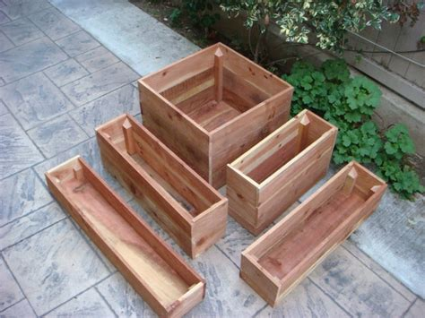 Vegetable Planters For Deck by 100 Best Flower Pots Images On Wood