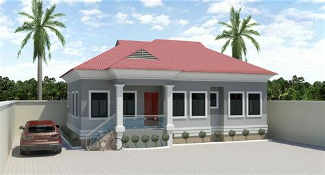 simple three bedroom house architectural designs 3bedroom bungalow designs in nigeria joy studio design
