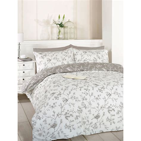 french toile bedding french toile duvet quilt cover reversible floral bird