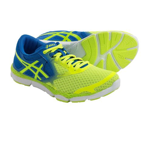 blue and green shoes azmjk89d outlet asics 33 green yellow