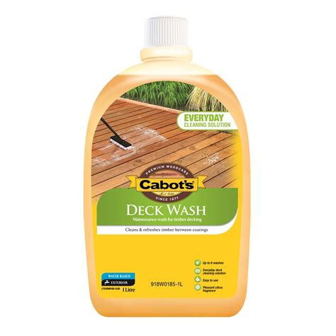 cabots  deck wash bunnings warehouse