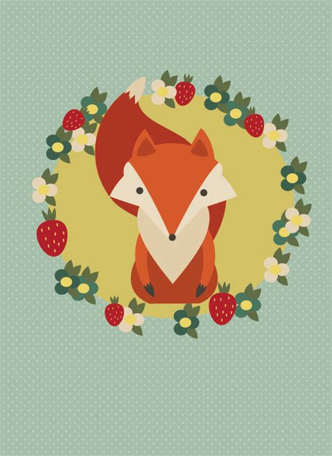 how to create a retro fox illustration in adobe illustrator simple and free illustrator tutorials makeup and nonsense
