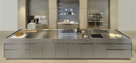 stainless steel kitchen interior design