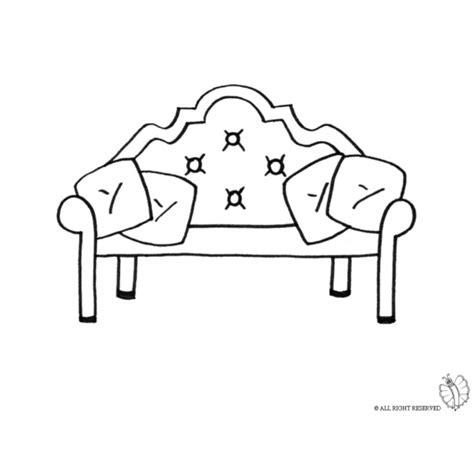 disegno divano disegno di divano antico da colorare per bambini