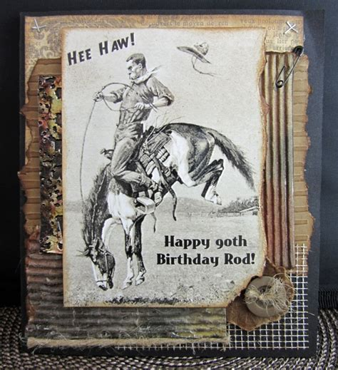 Western Birthday Cards 17 Best Images About Cards Birthday Western On Pinterest