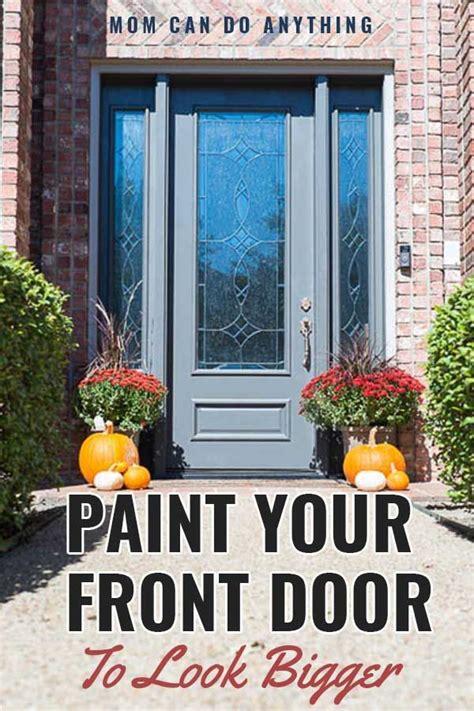painted  front door     bigger