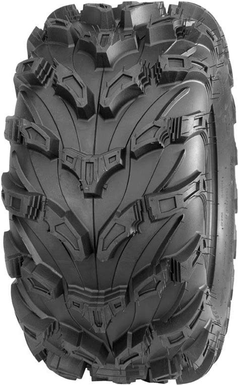 puncture resistance radial all weather quadboss qbt672 radial mud 27 11r12 front rear 8 ply atv utv tire midwest traction