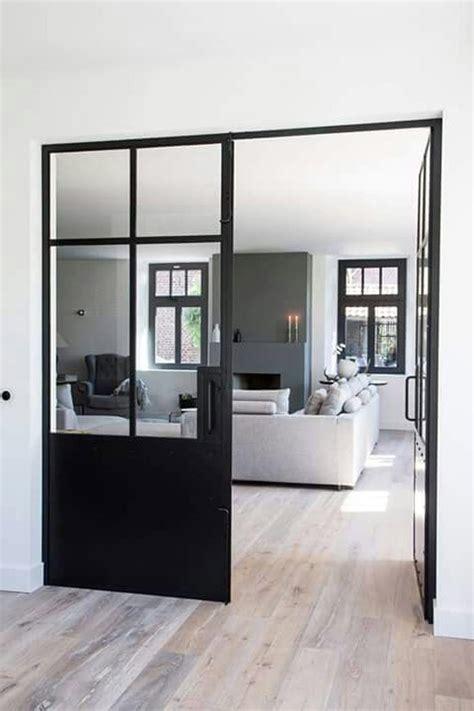 Porte Fenetre Style Atelier 3393 by Portes Fenetres Aluminium Noir Style Atelier Verriere