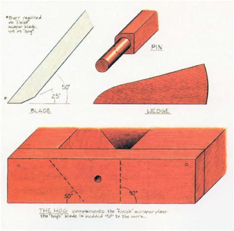 top woodworking blogs make a scraper plane popular woodworking magazine