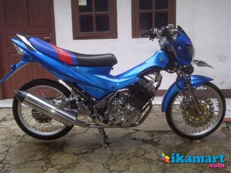 Jual Lu Hid Motor Satria Fu jual satria fu 2009 biru modif motor