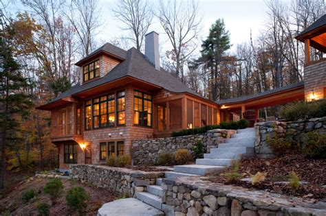 home design boston new hshire lake house traditional exterior boston by sheldon pennoyer architects