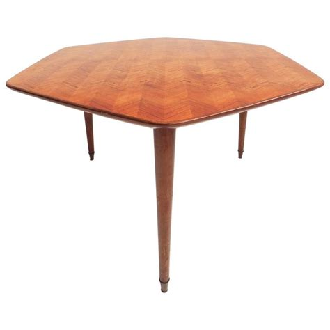 Hexagonal Dining Table Beautiful Hexagonal Dining Table For Sale At 1stdibs