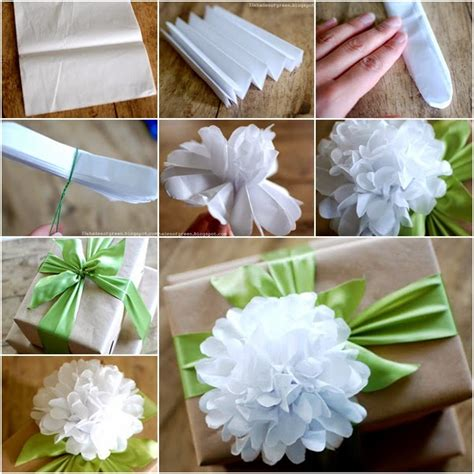 Flower With Tissue Paper - wonderful diy beautiful tissue paper flowers