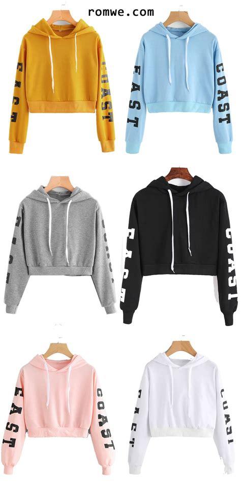 Lettering Cropped Hoodie best 25 cropped hoodie ideas on crop top