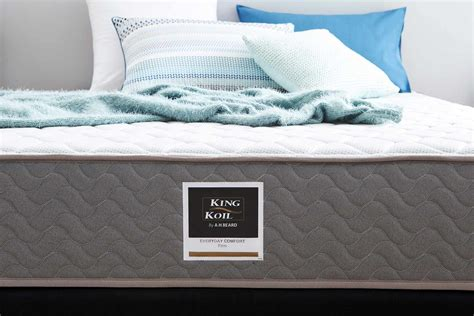 king koil bed frame king koil everyday comfort mattress firm beds