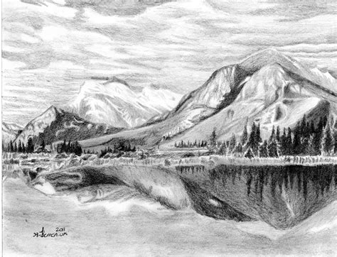Drawing Mountains by Created To Create October 2011