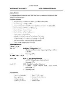 sample resume for qa tester 6 - Sample Resume For Qa Tester