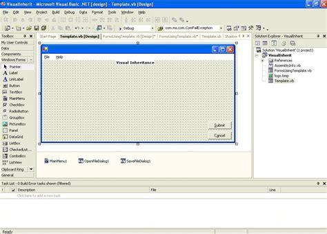 vb net form templates images templates design ideas