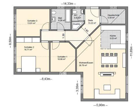 4 Zimmer Bungalow Grundrisse bungalow grundrisse 220 bersicht mit vielen bungalow