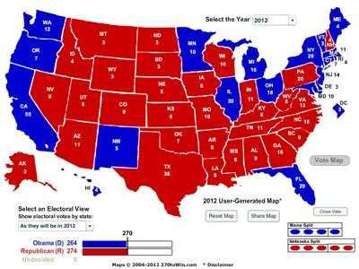 florida swing state romney electoral map needs florida ohio business insider