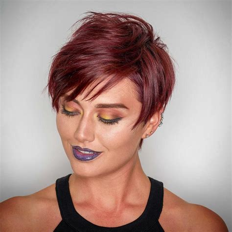 styling pixie with bangs 40 best edgy haircuts ideas to upgrade your usual styles