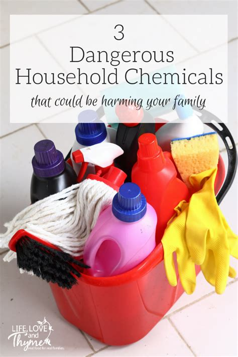 3 dangerous household chemicals that could be harming your