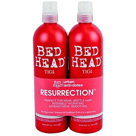 bed head resurrection close