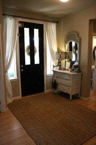 front door curtain rod 25 best ideas about large window curtains on pinterest