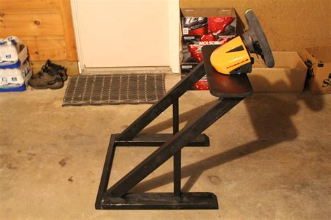 diy pro homemade wheelstand left view by nlck09 on deviantart