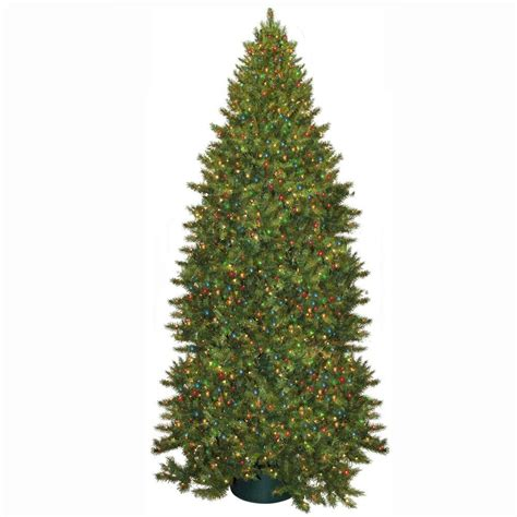 general foam 12 ft pre lit carolina fir artificial