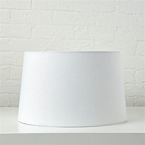how to match a lshade to a base floor ls white nickel floor l base with white fabric shade the land of nod