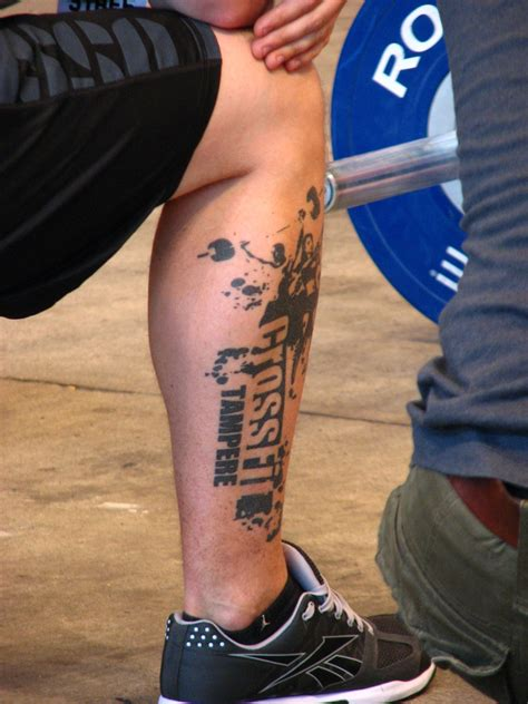 crossfit tattoos crossfit move ur lifestyle