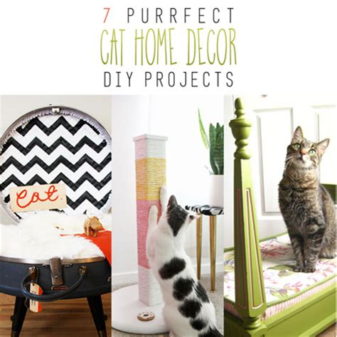 cat decor for the home 7 purrfect home decor cat diy projects the cottage market