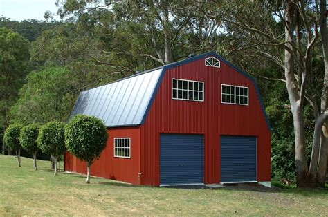 Barns And Sheds by Quaker Barn With Vertical Cladding Fair Dinkum Sheds