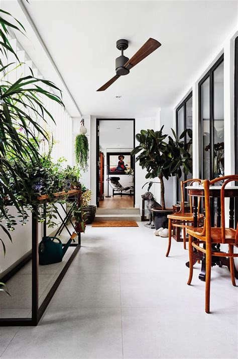 recess area threshold modern home interior design